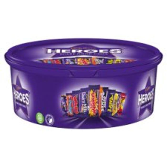 Cadbury Tub 600G for £4 at Tesco