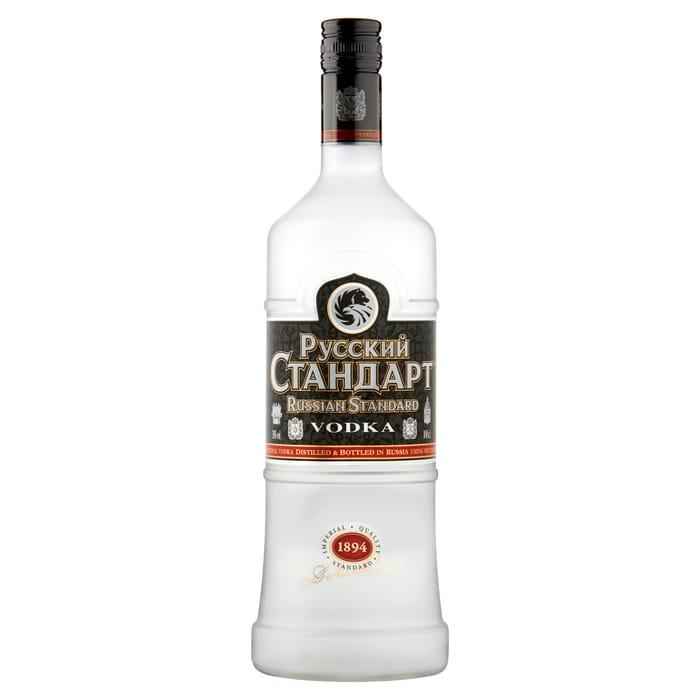 Russian Standard Vodka 1Lt - Save £3.5