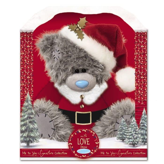 "Me to You 9"" Santa Boxed Plush Bear"