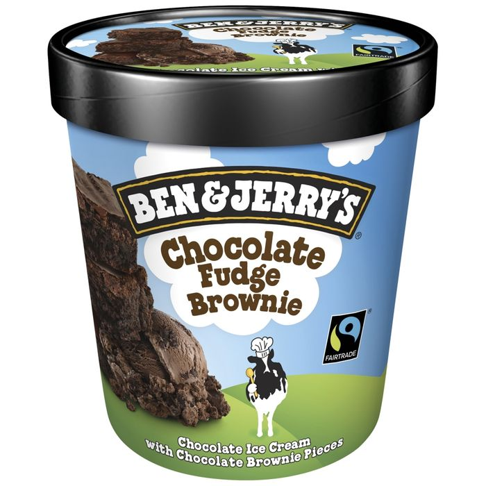 Ben and Jerry's Chocolate Brownie Ice Cream