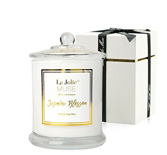 Jasmine Scented Candle 60 Hours Burn
