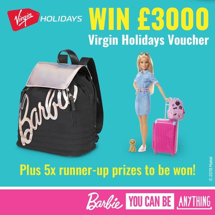 Win £3000 Virgin Holiday Vouchers