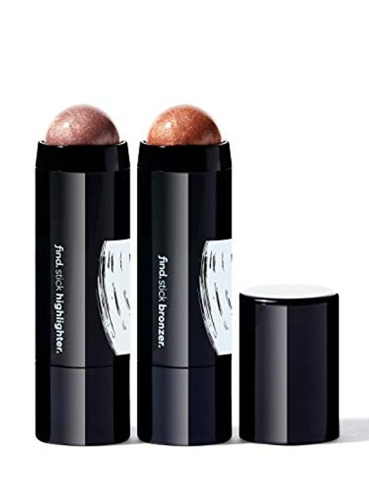 Contouring Face Kit - (Stick Highlighter no.2 and Stick Bronzer)