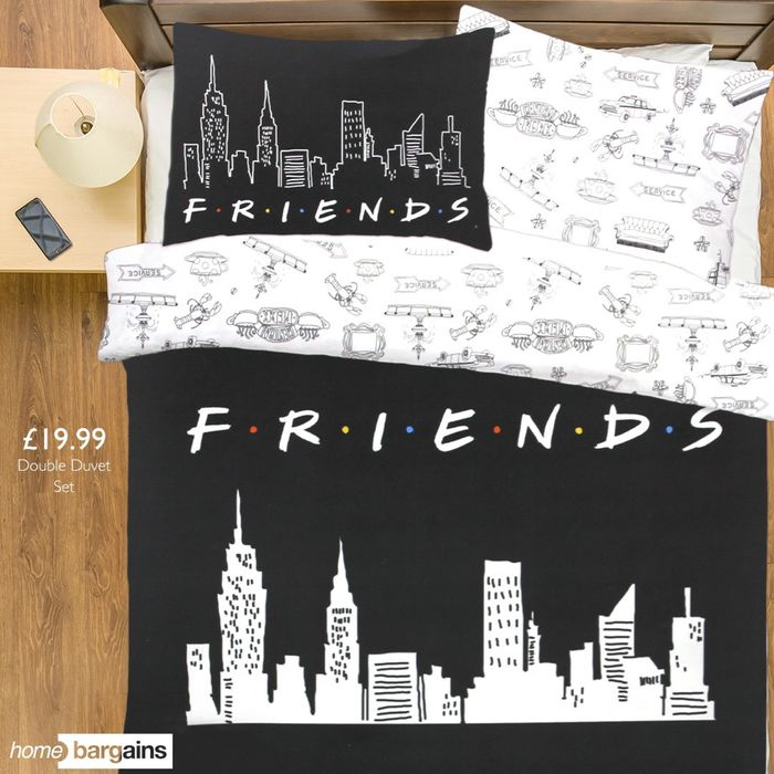 FRIENDS Duvet Set at Home Bargains!