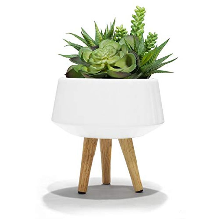 La Jole Muse Plant Pots Ceramic for Succulent Cactus,