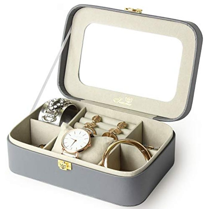 Jewellery Box with Two Polishing Cloths