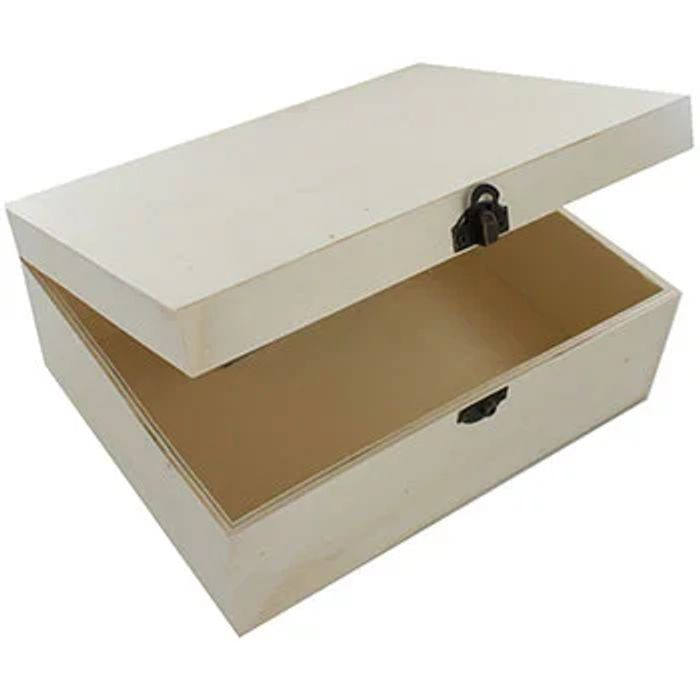 Large Wooden Craft Box X3 DIY CHRISTMAS EVE BOXES!