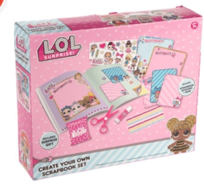 L.O.L. Surprise! Create Your Own Scrapbook Set - HALF PRICE