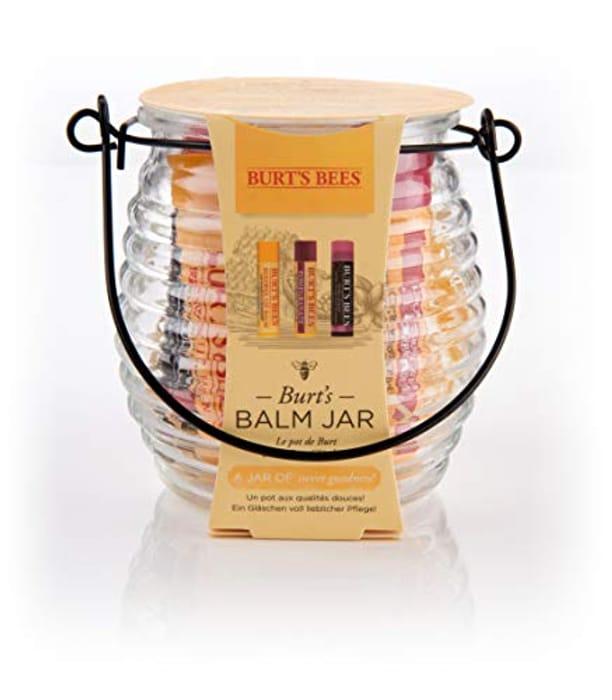 Burt's Bees Balm Jar 100% Natural 3 Piece Gift Set