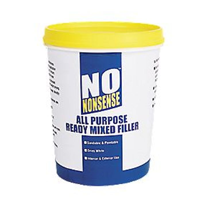 60% Off! No Nonsense All-Purpose Ready-Mixed Filler White 1kg (Free C&c)