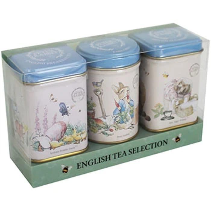Beatrix Potter English Tea Tin Selection - Set of 3* Free Delivery!