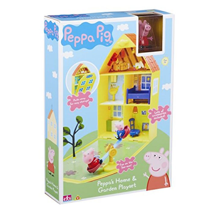 Cheap Peppa Pig House and Garden Playset - Save 27%