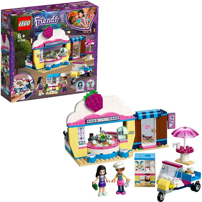 LEGO FRIENDS - Olivia's Cupcake Cafe (41366) **4.9 STARS**