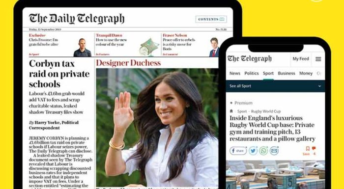 Free 2 Months Digital Subscription of the Telegraph