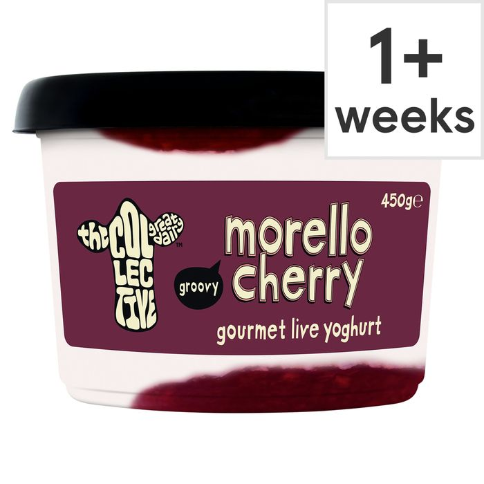 The Collective Dairy Cherry Yogurt 450G on Sale From £2.2 to £1.5