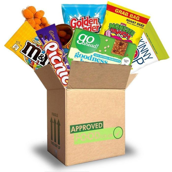 OCTOBER SPECIAL Approved Food Snack Box
