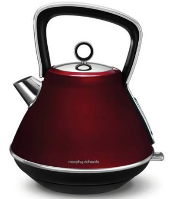 Morphy Richards 100108 Evoke Pyramid Kettle - Red Only £29.99