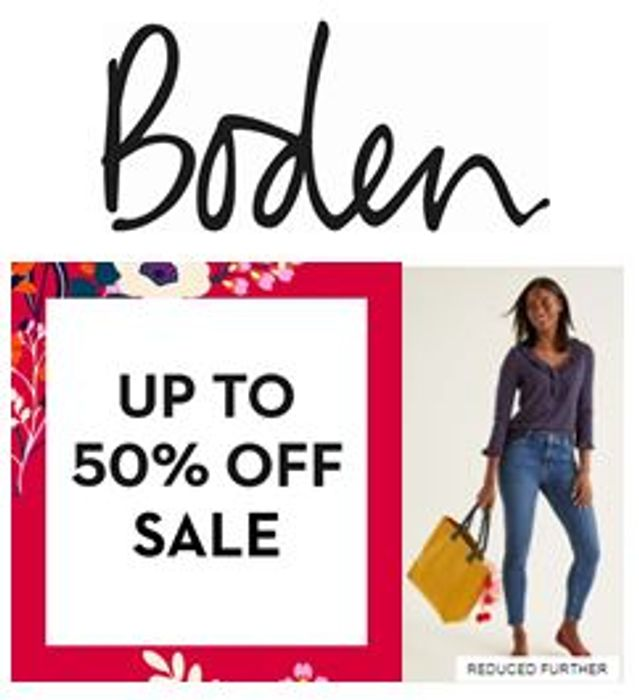 Boden - Mid-Season Sale - up to 50% OFF