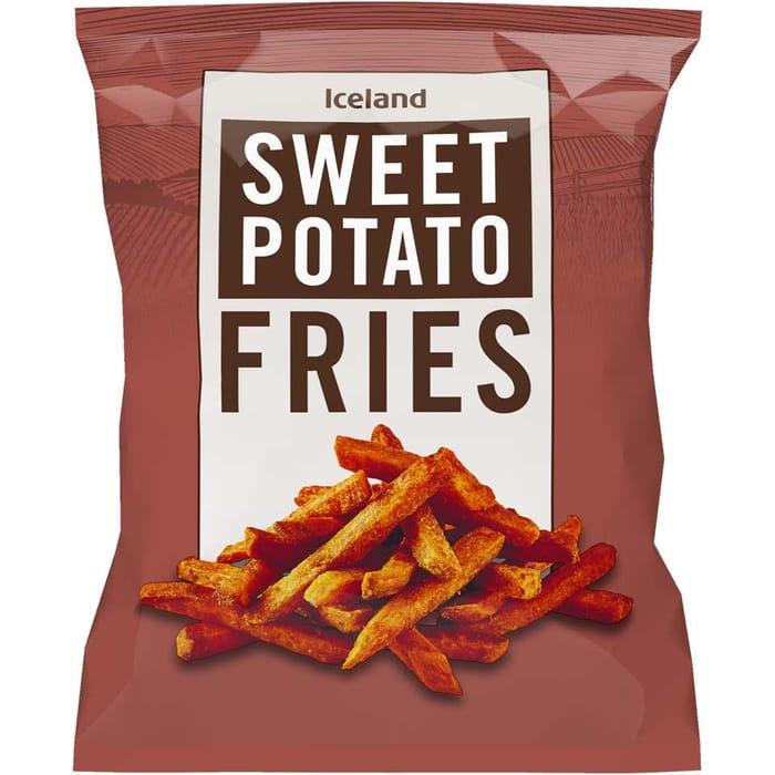 Iceland Sweet Potato Fries 600g