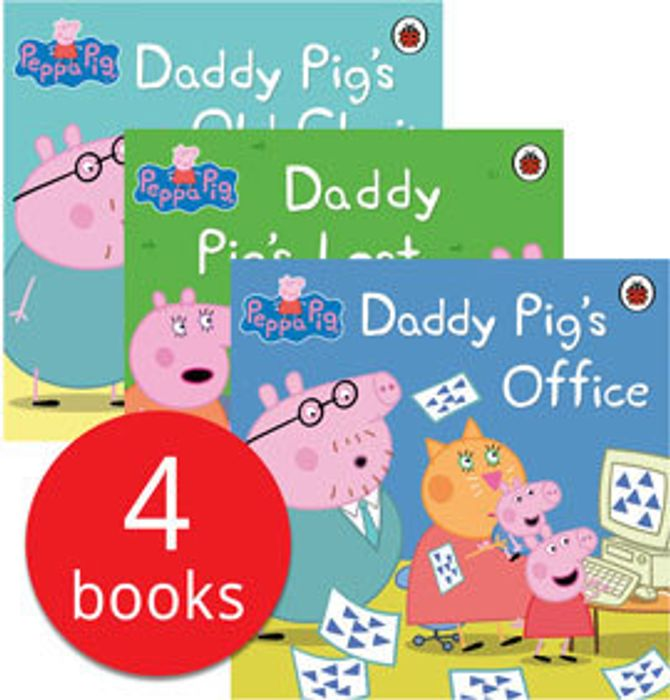 Peppa Pig - Daddy Pig Collection - 4 Books