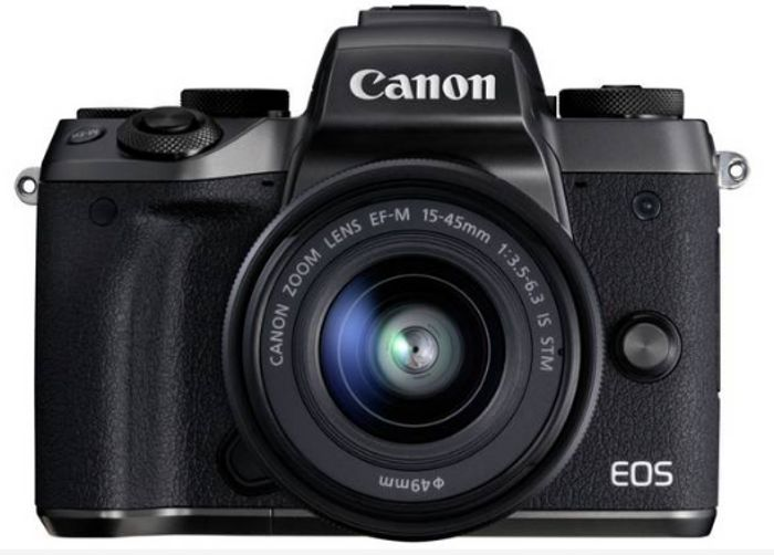Canon EOS M5 Mirrorless Camera Body with 15-45mm Lens