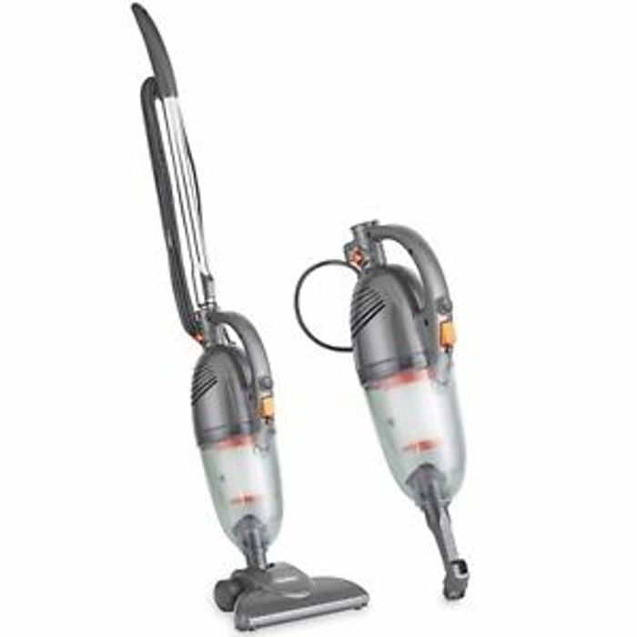 VonHaus Stick Vacuum Cleaner 600W - 2 in 1 Upright & Handheld Vac, Grey