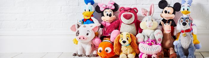 Disney Medium Soft Toys Now £12.50 Each at Shop Disney
