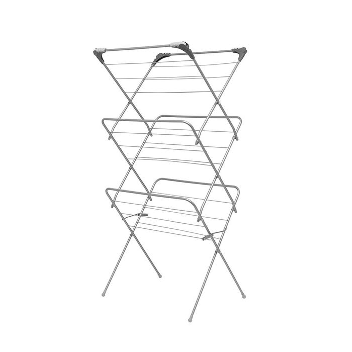 Addis 3 Tier Airer with Hooks *Extra 10% Off With Code*