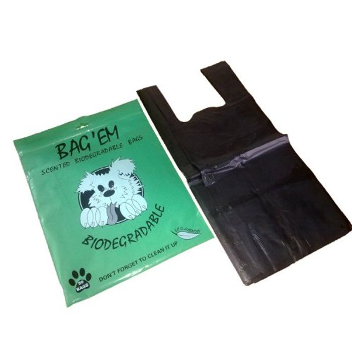 Best Ever Price! Bag Em Biodegradable Poo Bags (Pack of 50)