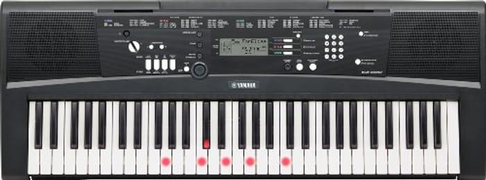 Yamaha EZ-220 Portable Keyboard 61 Full-Size Lighted/Touch-Sensitive Keys