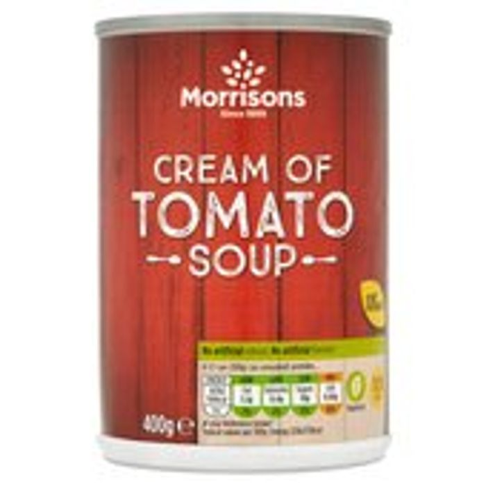 Cheap Morrisons Cream of Tomato Soup 400g, Only £0.38!