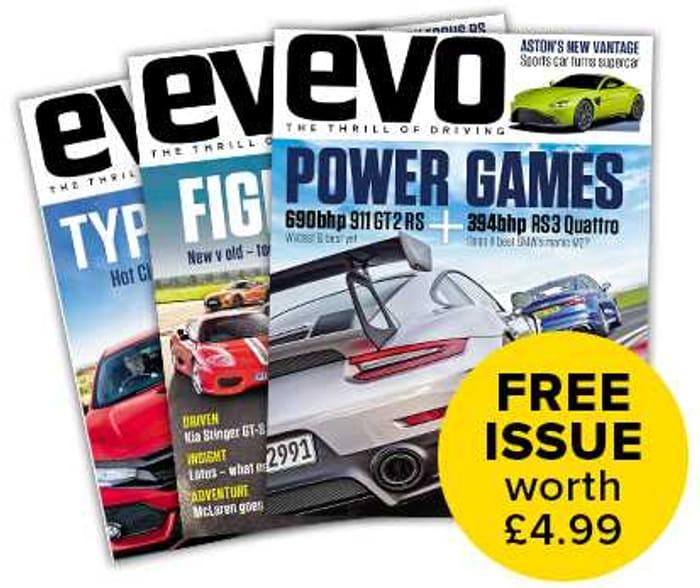 Free Copy of Evo Car Magazine