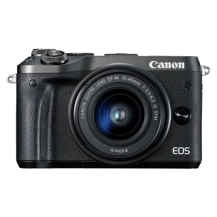 Canon EOS M6 Mirrorless Camera with 15-45mm Lens - 25% Off