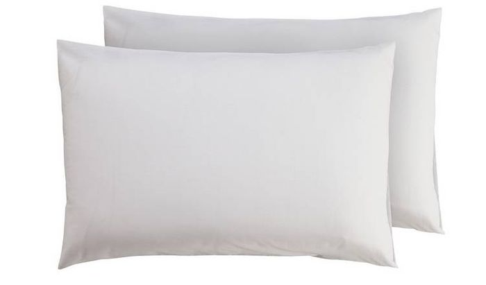 Argos Home Standard Pillowcase Pair - 40% Off Now Only £1.49