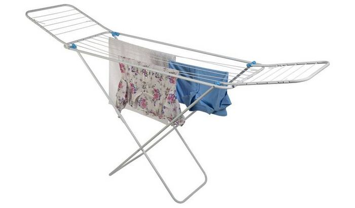 Minky Balcony 14m Indoor Clothes Airer - 25% Off Now Only £11.25