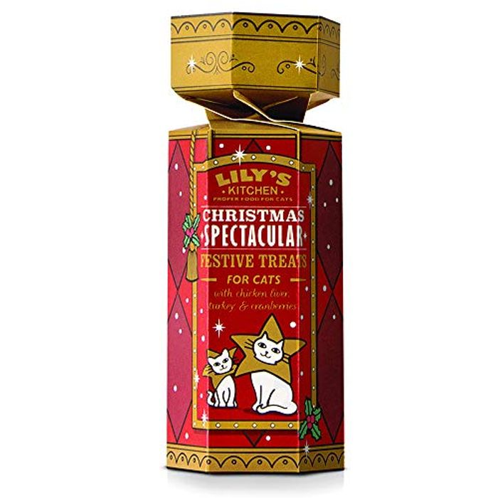 Best Ever Price! 63% Off! Lily's Kitchen Christmas 2018 Cat Treats (50g)