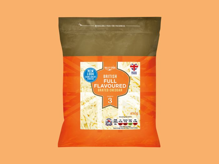 Grated Cheese 450g Super Weekend Offer