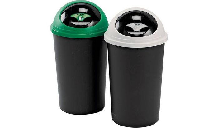 Best Price Tontarelli 25 Litre Recycle Bin Twin Set