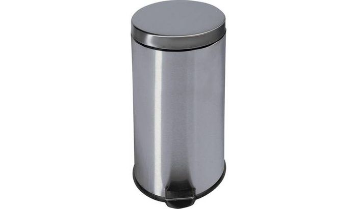 Argos Home 30 Litre Kitchen Pedal Bin - Silver Only £15