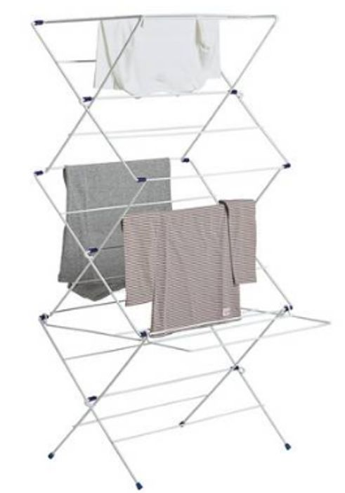 Argos Home 12m 3 Tier Indoor Clothes Airer - Save £2.50 Now Only £7.5