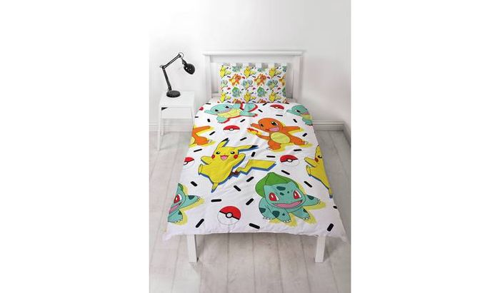 Pokemon Bedding Set - Single - 27% Off Now Only £10.99