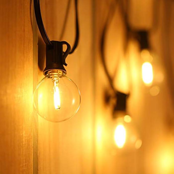 50% off Led Outdoor String Lights - 21ft!