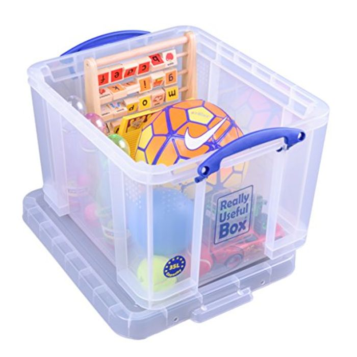 Really Useful Box 35 Litre Clear - 47% Off