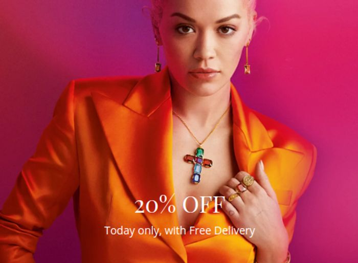 20% off Thomas Sabo + FREE DELIVERY for Today Only!