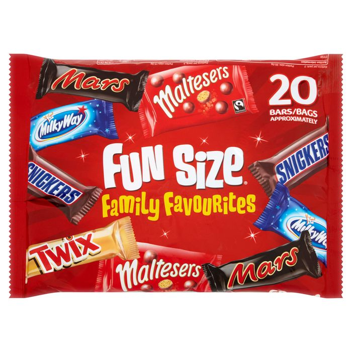 Mars Variety Funsize 20 Pack 358G