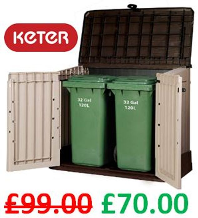 SAVE £29 - Keter Store-It out Midi Storage Shed - FREE DELIVERY