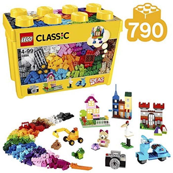 SAVE £10 & FREE DELIVERY - LEGO CLASSIC Large Creative Brick Box (790 Pieces)