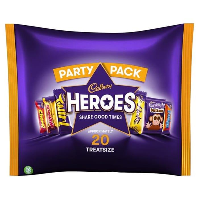 20pk Cadbury Family Heroes Treat Size