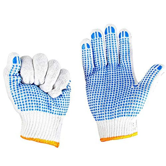 Dotted Protective Anti-Slip Gloves