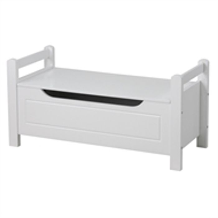 Storage Bench - White